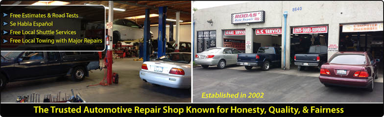 Auto Service Near Me >> Rodas Auto Repair Shop Alta Loma Ca 91701 Automotive
